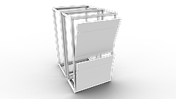 Product photo Cabinet accessories for side, front and back