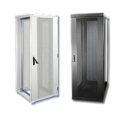 Product photo Server and network racks, 800 mm wide with airflow management pack