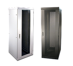 Product photo Server and network racks, 800 mm wide without airflow management pack