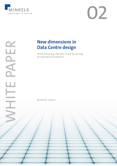 Cover New dimensions in Data Centre design
