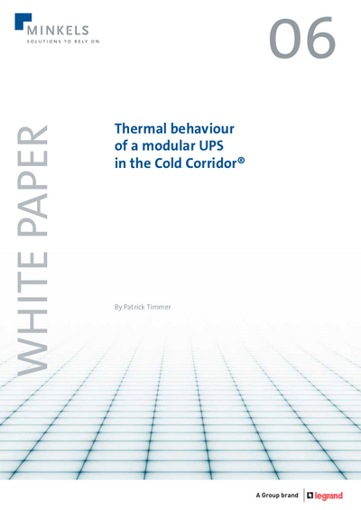 Cover Thermal behaviour of a modular UPS in the Cold Corridor